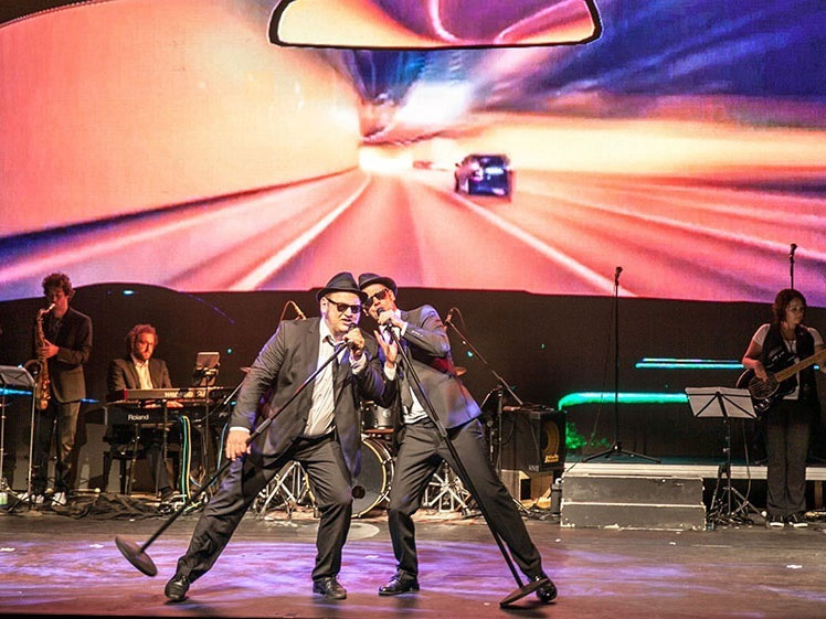 Das Kult-Musical im Bürgerhaus: A Tribute to the Blues Brothers